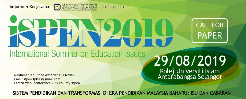 Copyright © ISPEN 2018 Kolej Universiti Islam Antarabangsa Selangor